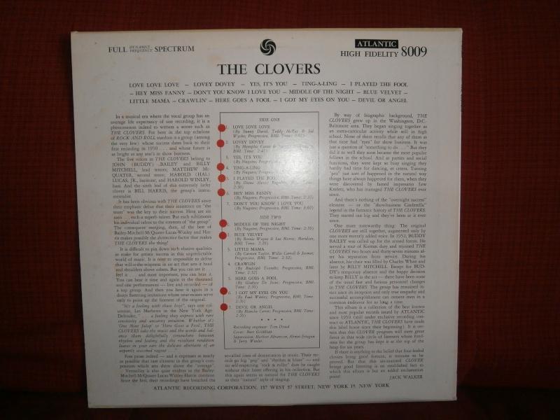 Les albums 33 tours classiques du rock des 1950's et 1960's - Classic Lp's of 1950's and 1960's rock - Page 3 P2210049
