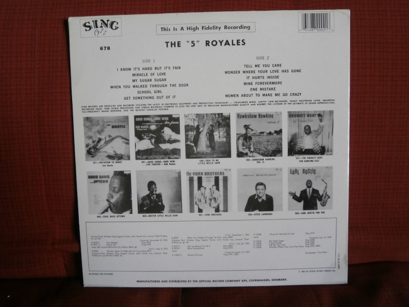 Les albums 33 tours classiques du rock des 1950's et 1960's - Classic Lp's of 1950's and 1960's rock - Page 3 P2210057