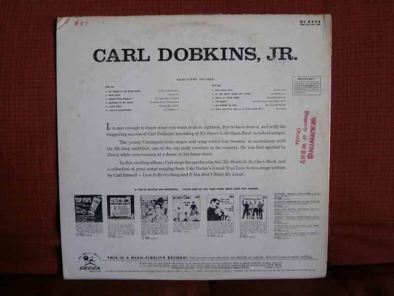 Les albums 33 tours classiques du rock des 1950's et 1960's - Classic Lp's of 1950's and 1960's rock - Page 3 P2210059
