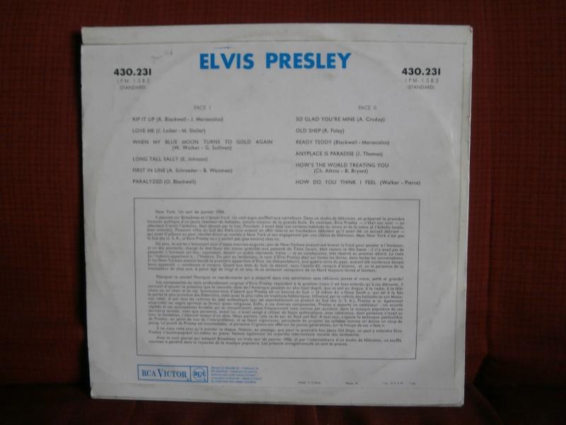 Les albums 33 tours classiques du rock des 1950's et 1960's - Classic Lp's of 1950's and 1960's rock - Page 3 P4010015