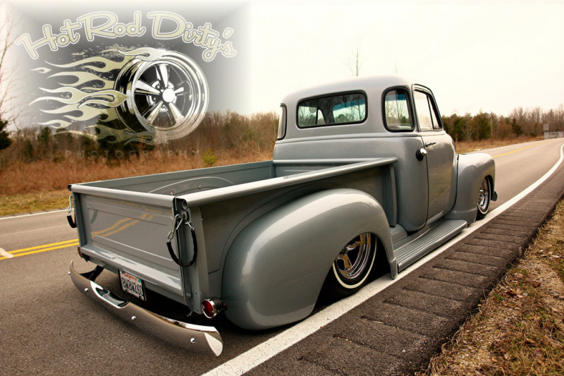 Chevy Pick up 1947 - 1954 custom & mild custom T2ec1159