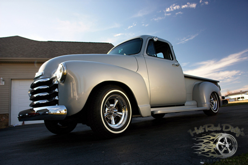 Chevy Pick up 1947 - 1954 custom & mild custom T2ec1160
