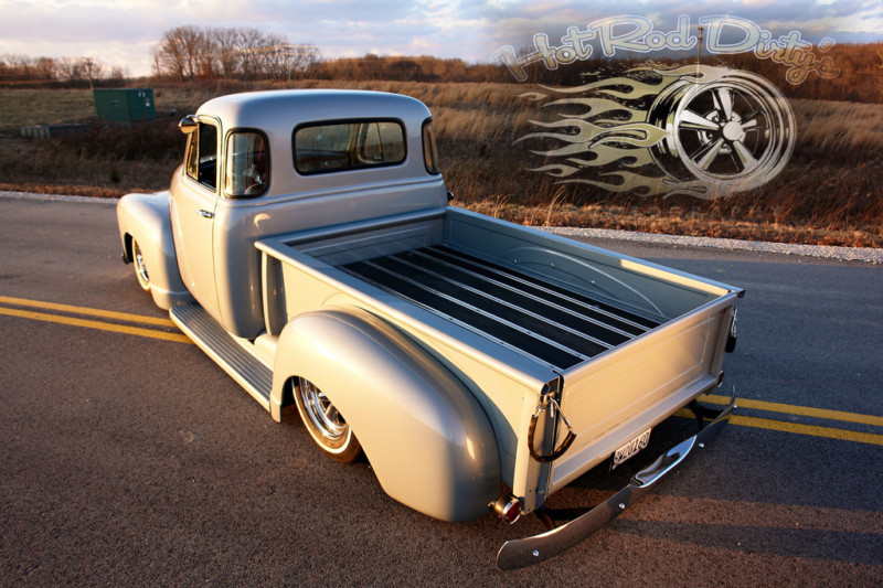 Chevy Pick up 1947 - 1954 custom & mild custom T2ec1162