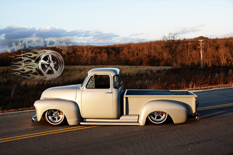 Chevy Pick up 1947 - 1954 custom & mild custom T2ec1163