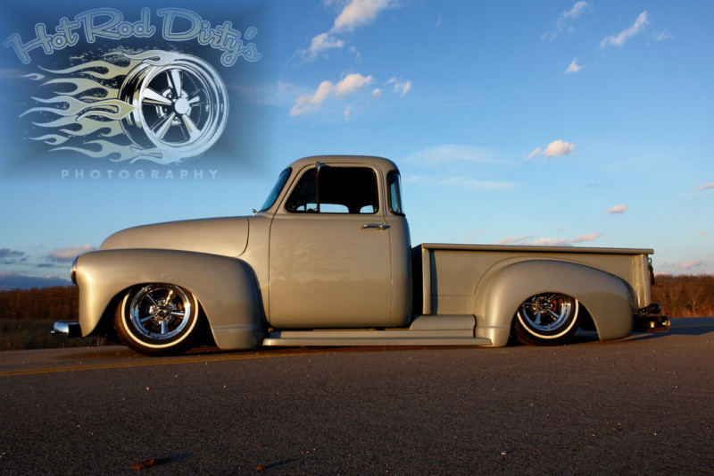 Chevy Pick up 1947 - 1954 custom & mild custom T2ec1164