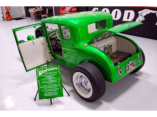 1930 Ford Model A 5 window - Smokehouse Rods & Cycles - Kryptonite T2ec1432