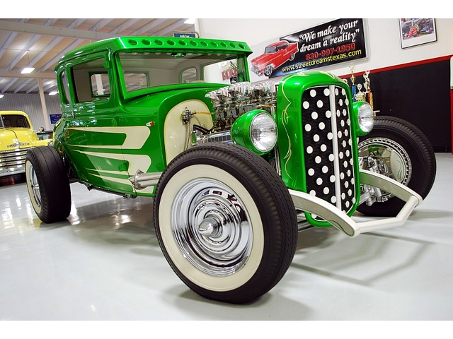 1930 Ford Model A 5 window - Smokehouse Rods & Cycles - Kryptonite T2ec1436