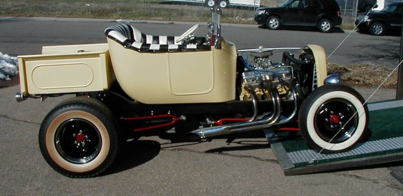 Ford T hot rod (1908 - 1927) - T rod T2ec1460