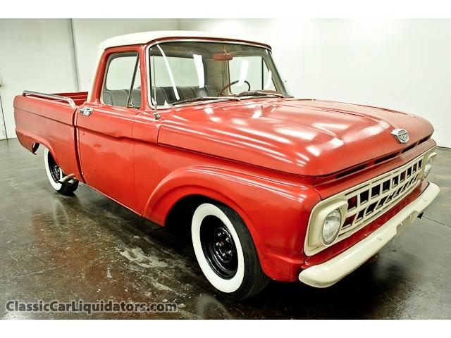 Ford Pick up 1958 - 1966 custom & mild custom T2ec1700