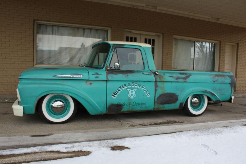 Ford Pick up 1958 - 1966 custom & mild custom T2ec1720