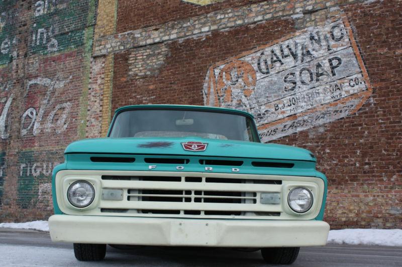 Ford Pick up 1958 - 1966 custom & mild custom T2ec1725