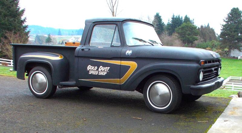 Ford Pick up 1958 - 1966 custom & mild custom T2ec1757