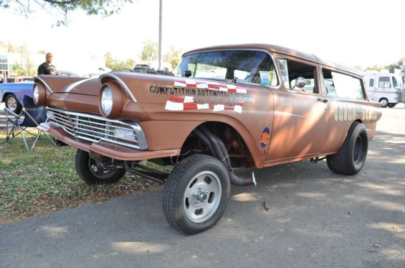 1950's Ford Gasser  T2ec1982