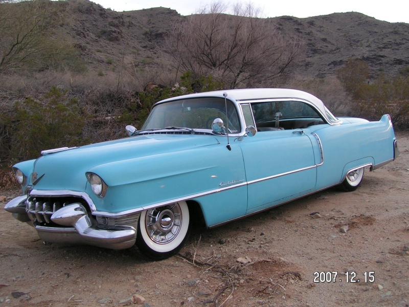 Cadillac 1954 -  1956 custom & mild custom The20s11