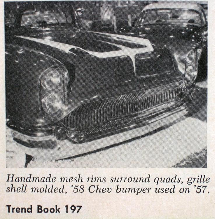 Chevy 1957 custom & mild custom Trend210