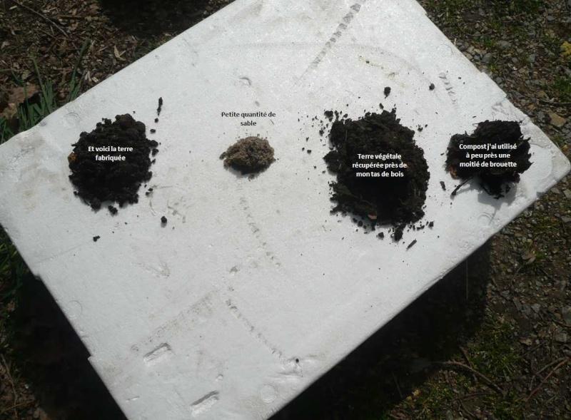 Préparation des semis, terre végétale et bétonnière… 10a10