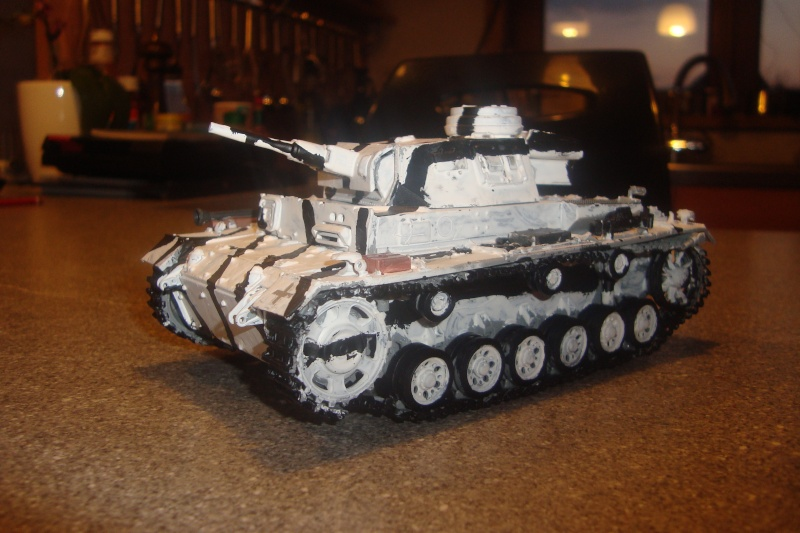1/35 panzer 3 camouflage hiver , campagne de Russie . 01910