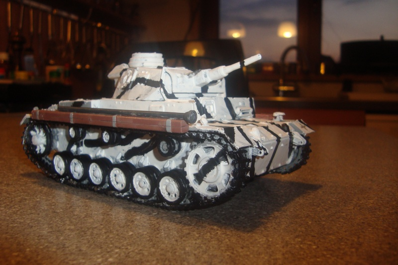 1/35 panzer 3 camouflage hiver , campagne de Russie . 02010