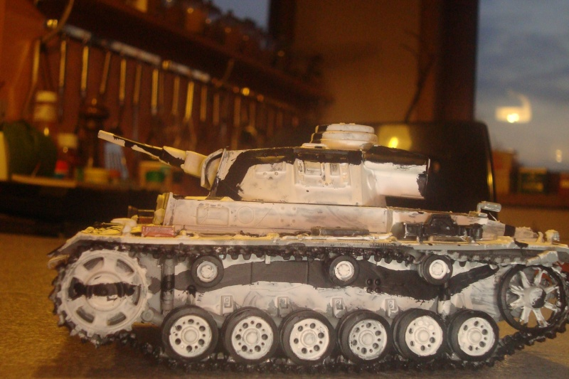 1/35 panzer 3 camouflage hiver , campagne de Russie . 02310
