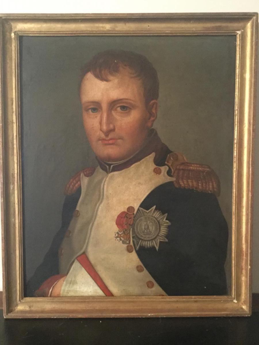 Napoléon ou le portrait de JL David retrouvé mais c'est pas vraiment ça selon JCC par pisco 41350210
