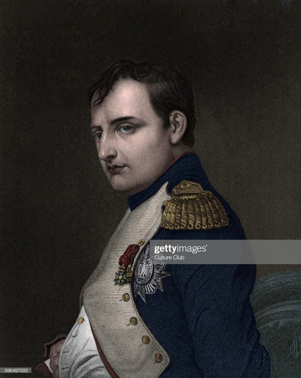 Napoléon ou le portrait de JL David retrouvé mais c'est pas vraiment ça selon JCC par pisco Gettyi10