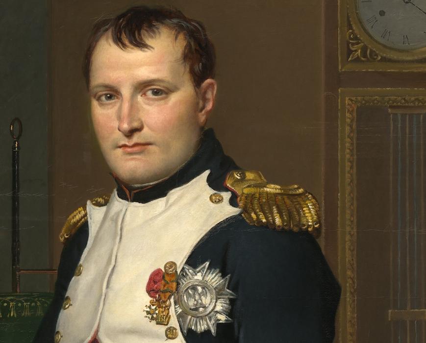 Napoléon ou le portrait de JL David retrouvé mais c'est pas vraiment ça selon JCC par pisco Naphea10