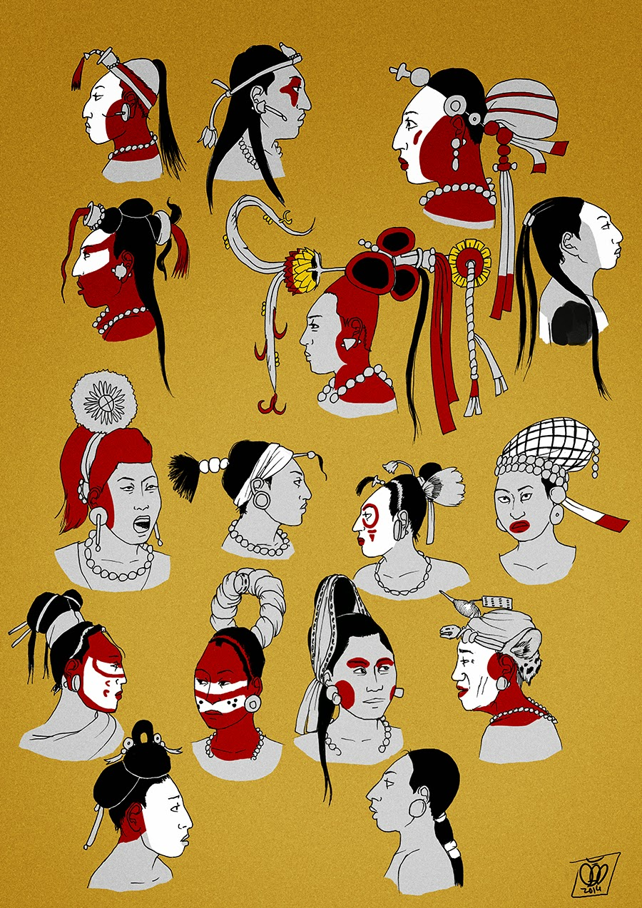 Femme Maya par Pisco Tumblr10
