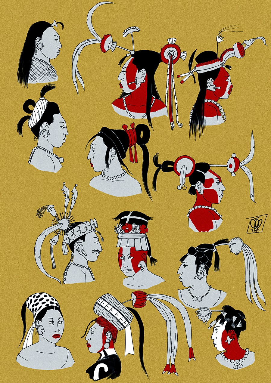 Femme Maya par Pisco Tumblr11