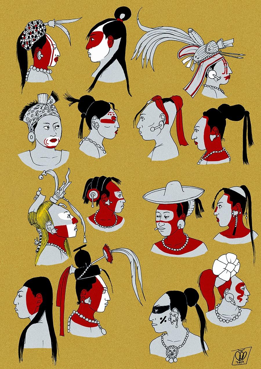 Femme Maya par Pisco Tumblr12