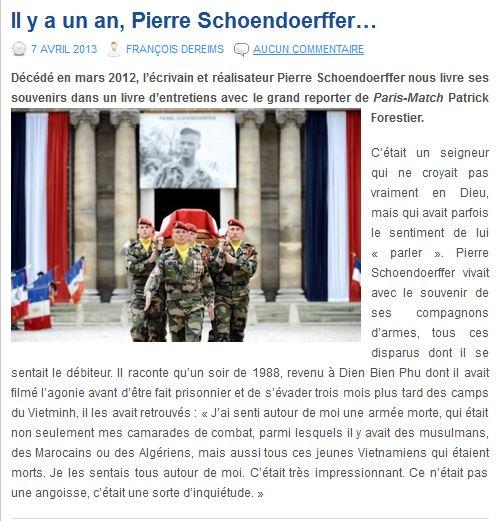 SCHOENDOERFFER Pierre  - Page 4 Schoen10