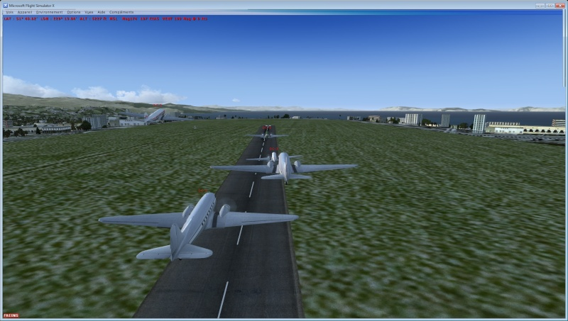 Vol en formation en Afrique (DC3) 1_510
