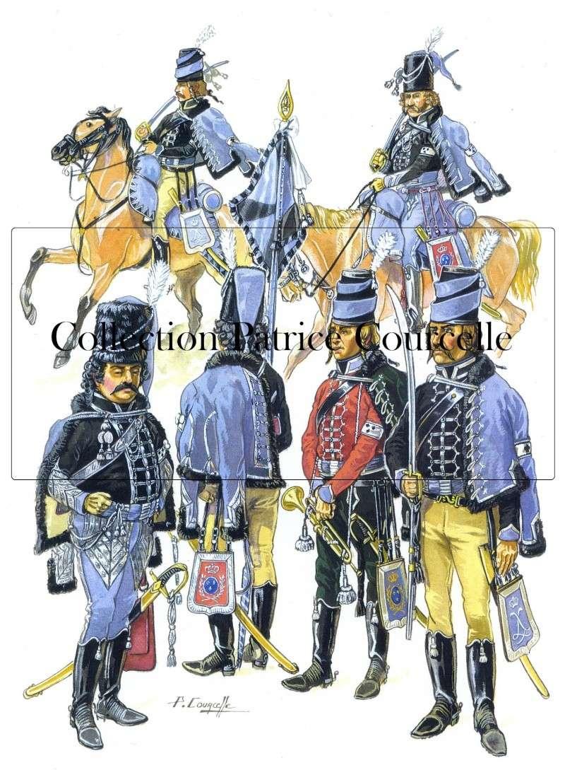 L'émigration militaire dans l'œuvre de Patrice Courcelle. Hussar10