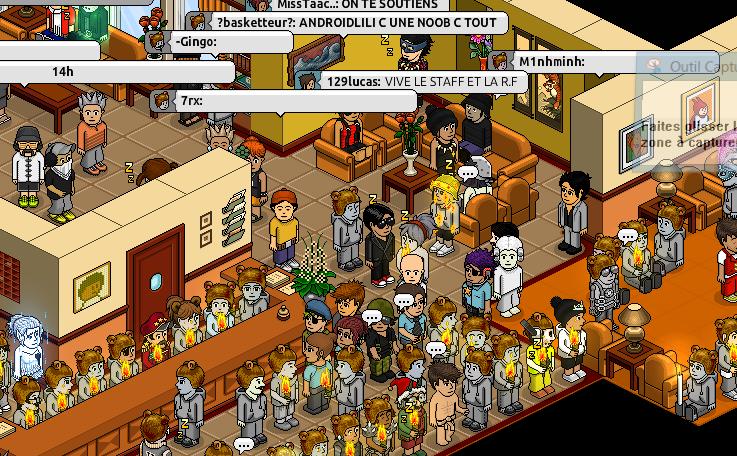 Manifestation à la reception Captur35