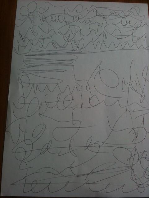 L'écriture et dessin automatiques Photo310