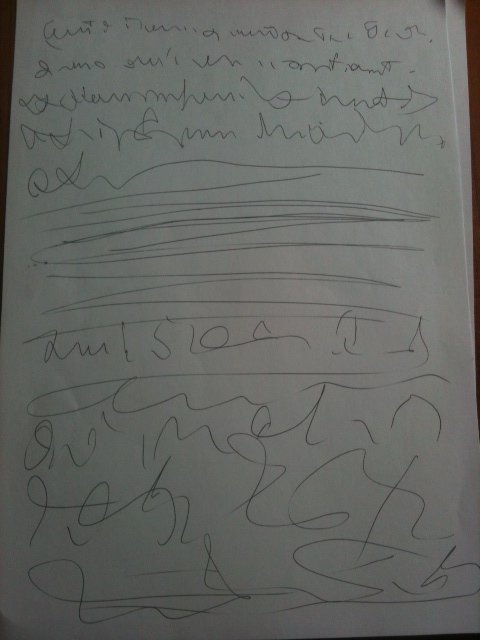 L'écriture et dessin automatiques Photo510