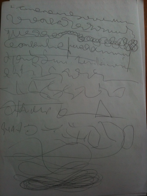 L'écriture et dessin automatiques Photo610