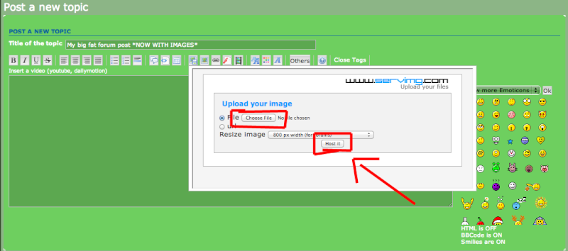 How to add pictures to your forum post Step_210