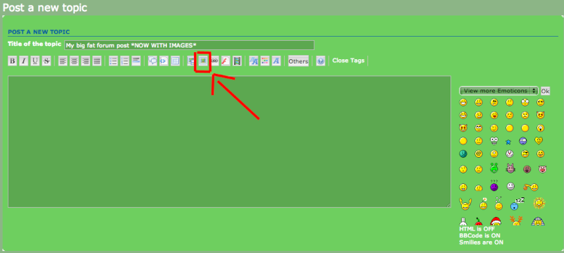 How to add pictures to your forum post Step_410