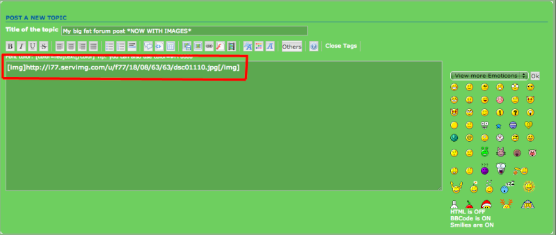 How to add pictures to your forum post Step_510