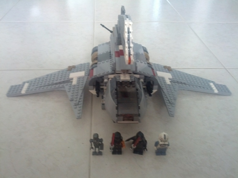 [Completed] 8096 Emperor Palpatine's Shuttle Img_2030