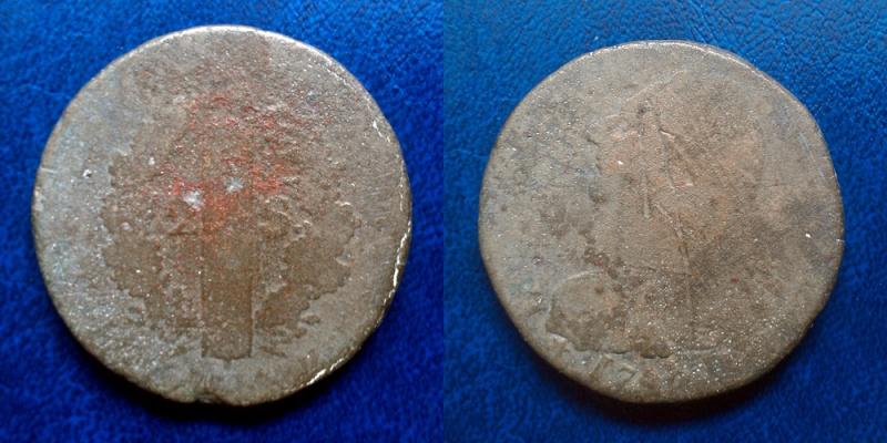 Monnaie Louis XVI - 2 pièces (12 deniers & 2 sols) Piece210