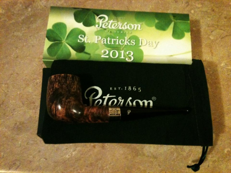 Dunhill Flake and New Pipe today  22344611