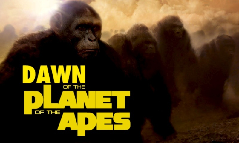 WENT BANANAS FOR THE LAST PLANET OF THE APES REBOOT?...YOU'LL GO ABSOLUTELY APE-$H!T CRAZY FOR #2! Dawn_o10