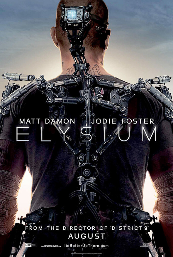 """DISTRICT 9"" SEQUEL ON HOLD, BUT DIRECTOR NEILL BLOMKAMP'S  NEW FILM ""ELYSIUM"" LOOKS PROMISING! Elysiu10"