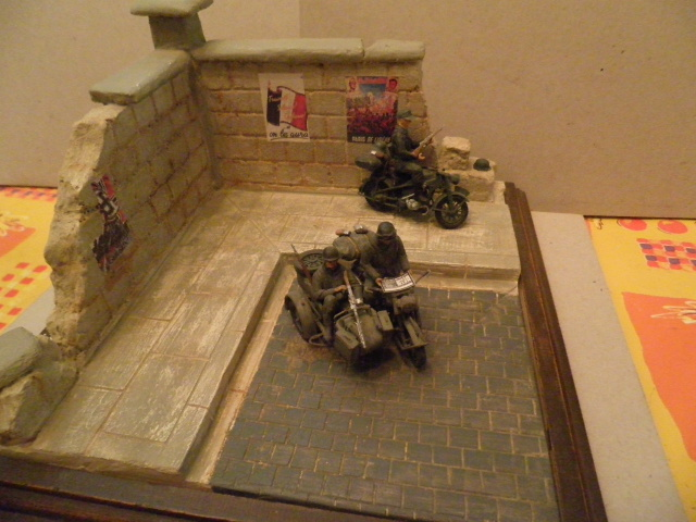 Diorama WWII 1/35. Dioram11