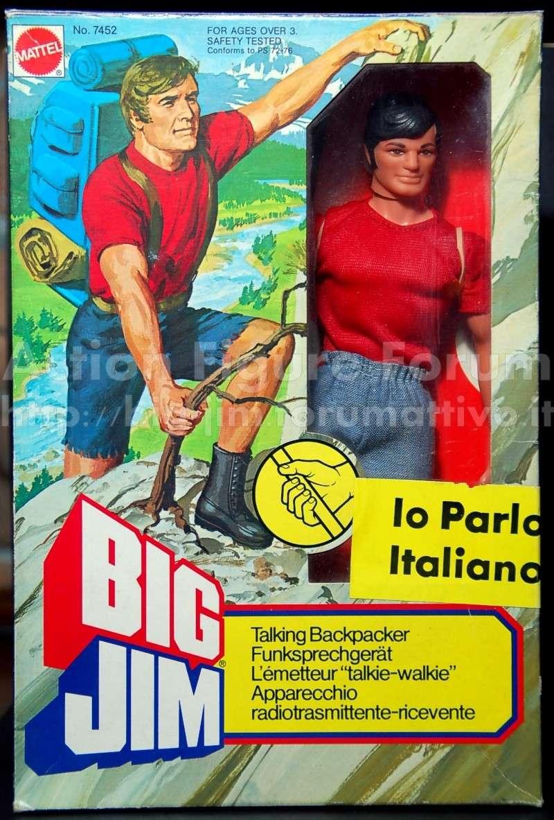 """BIG JIM PARLANTE """"IO PARLO ITALIANO"""" No. 7452 Bj-par10"""