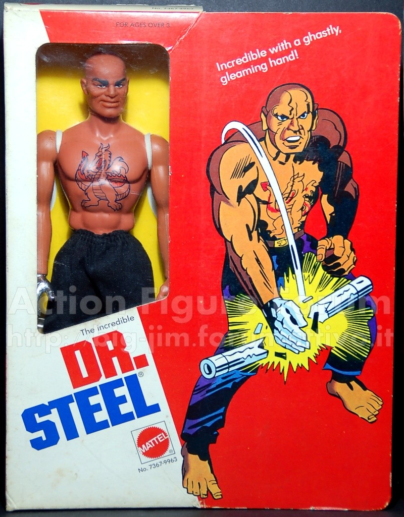 "DR. STEEL ""the incredible"" No. 7367 - 9963 Steel-10"
