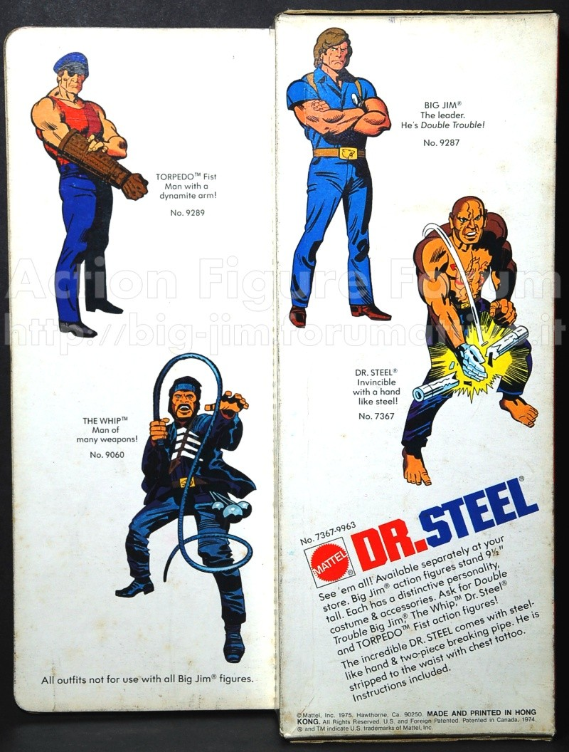 "DR. STEEL ""the incredible"" No. 7367 - 9963 Steel-12"