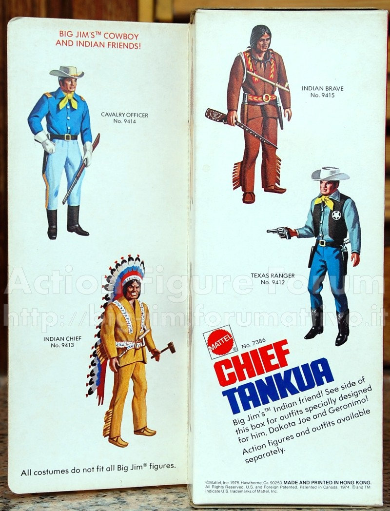 "CHIEF TANKUA ""Amico del West"" n° 7386  Tankua17"
