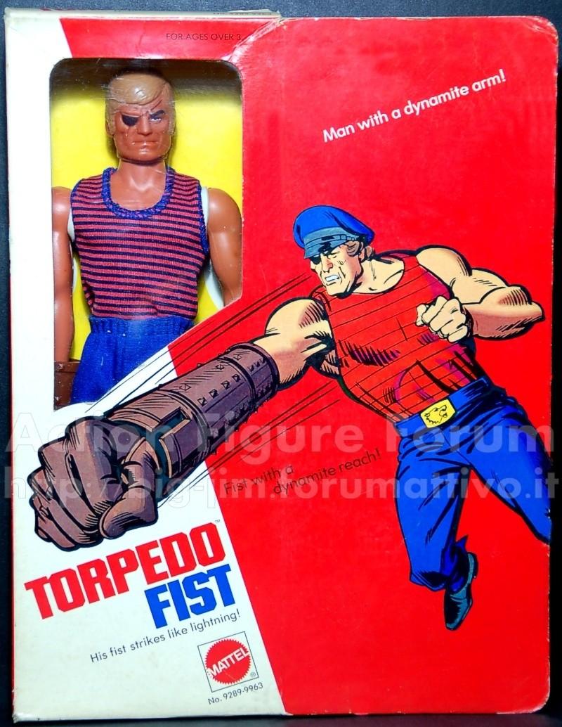 "TORPEDO FIST "" Man with a dynamite arm"" No. 9289 /9963 Torped10"